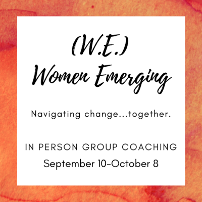 Women Emerging Group Spetember 10-October 8